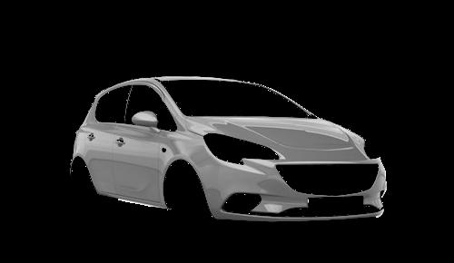Цвета кузова Corsa E 5-и дверный