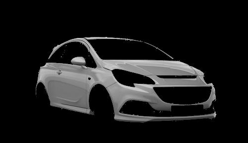 Цвета кузова Corsa OPC